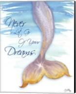 Mermaid Tail II (never let go of dreams) Fine-Art Print