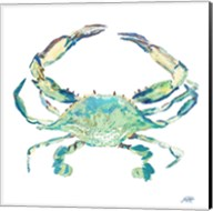 Sea Life in Blues II (crab) Fine-Art Print