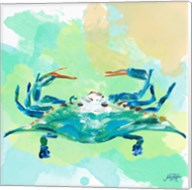 Watercolor Sea Creatures I Fine-Art Print
