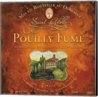 Still Life Wine Label Square VI Fine-Art Print