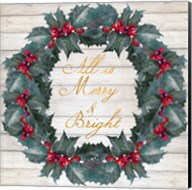 All Is Merry & Bright Fine-Art Print