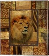 Decorative Safari II (Lion) Fine-Art Print