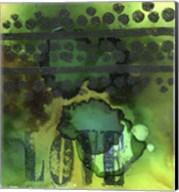Texture - Love Green Fine-Art Print