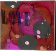 Texture - Love Red Fine-Art Print