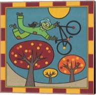 Stitch The Scarecrow Bike 1 Fine-Art Print