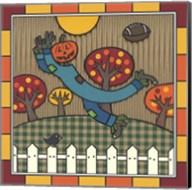 Stitch The Scarecrow Football 1 Fine-Art Print