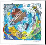 Noah's World Fine-Art Print