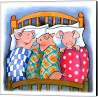 Pigs In Blankets Fine-Art Print
