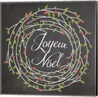Christmas Chalk 3 French Fine-Art Print