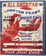 All American Lobster Fine-Art Print
