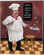 Shrimp Chef Fine-Art Print