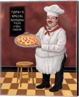 Pizza Chef Master Fine-Art Print