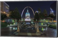 St. Louis At Night Fine-Art Print