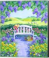 Garden Seat Fine-Art Print
