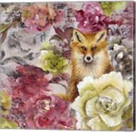 Hiding Fox Fine-Art Print