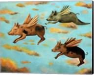 When Pigs Fly Fine-Art Print