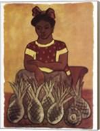 Vendedora de Pinas Fine-Art Print