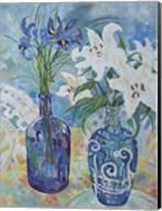 Flowers By The Sea Shore Fine-Art Print