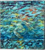 Kemps Ridley Turtle Hidden Treasure Fine-Art Print
