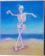 Skelly Dancer I Fine-Art Print