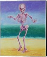 Skelly Dancer V Fine-Art Print