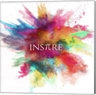 Inspire Powder Explosion Rainbow Fine-Art Print