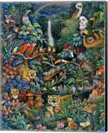 Rainbow Rainforest Fine-Art Print