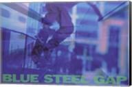 Blue Steel Gap Wall Poster