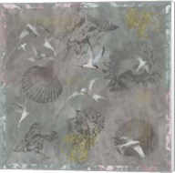 Foggy Sea Terns Fine-Art Print