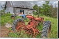 Tractors in Weeds Fine-Art Print