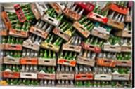 soda pop bottles Fine-Art Print