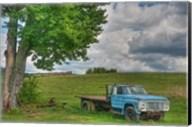 Blue Ford Truck Fine-Art Print