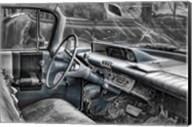 060 Buick Lesabre Interior BW Fine-Art Print