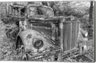 Tow Truck BW Fine-Art Print