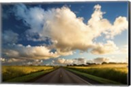 Central Oahu Road Fine-Art Print