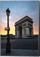 Paris Arch Of Triumph Fine-Art Print