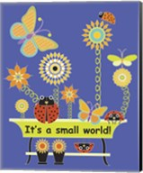 It's a Small World Flag Fine-Art Print
