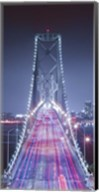 Oakland Bridge 3 Color Fine-Art Print
