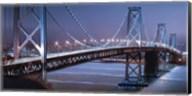 Oakland Bridge 2 Color Fine-Art Print