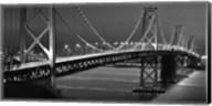 Oakland Bridge 2 BW Fine-Art Print