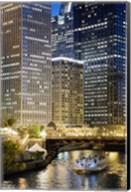 Chicago At Night #2, Chicago '07 - Color Fine-Art Print