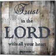 Proverbs 3-5 Fine-Art Print