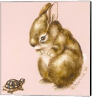 Bunny And Turtle Fine-Art Print