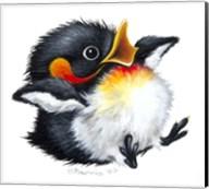 Let It Snow - Penguin Fine-Art Print