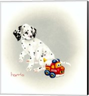 Dalmation 1 - Puppy Truck Fine-Art Print