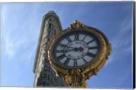 Flatiron and Clock Fine-Art Print
