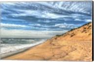 Footprints On Cape Cod Shore Fine-Art Print