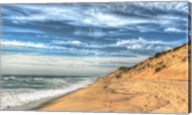 Footprints On Cape Cod Shore Fine-Art Print
