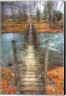 Footbridge Vertical Fine-Art Print