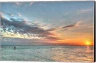 Key West Paddleboard Sunset Fine-Art Print